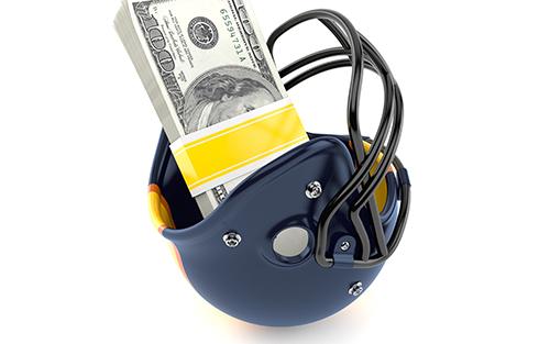 ヘルメット お金